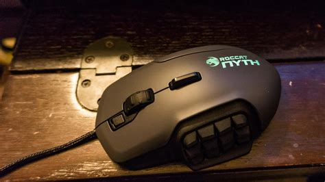 Mouse Gaming Nexus roccat nyth mmo mouse review gaming nexus