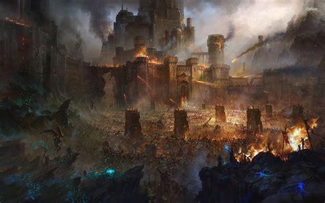 siege army war cerca con battle