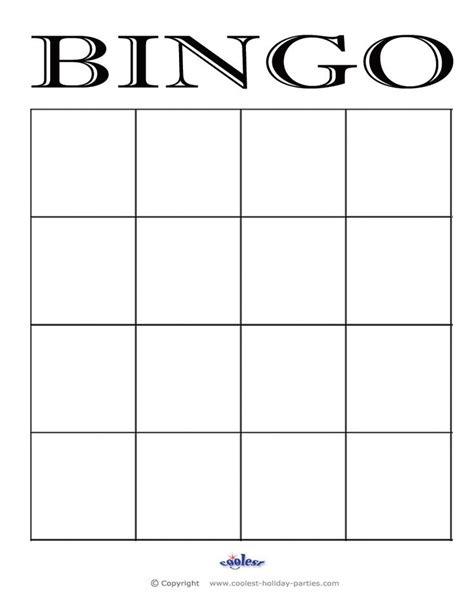 Free Blank Bingo Card Template For Teachers by Bingo Card Template Doliquid