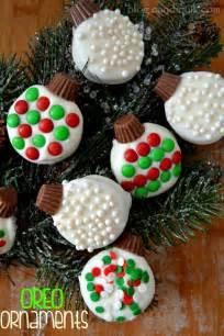 oreo ornaments recipe christmas parties christmas treats and classic
