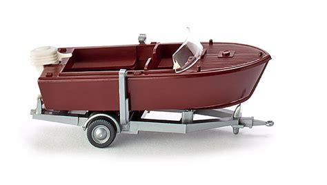 motorboot zubehör shop motorboot auf anh 228 nger klassik edition 1 87 pkw