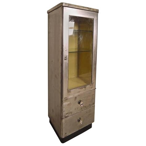 industrial style display cabinet tall industrial display cabinet for sale at 1stdibs