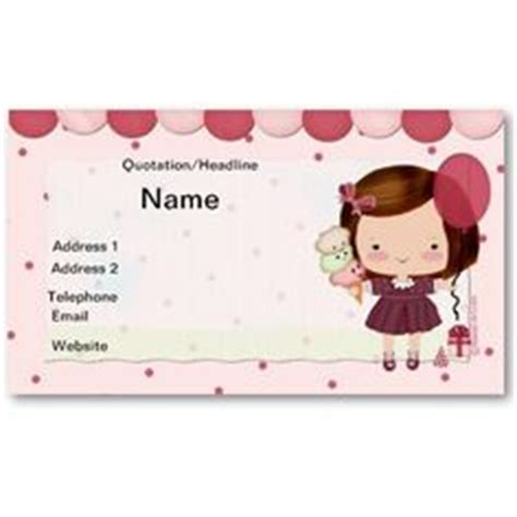 Children S Name Card Templates by 1000 Images About Business Or Calling Cards On
