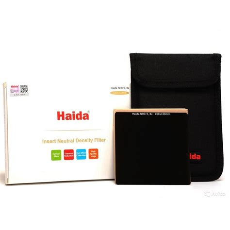 Haida Filter 100 Series Nd 09 haida nd0 9 8x optical glass nd filter 100x100mm fotoshop