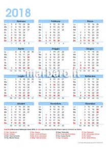Calendario 2018 Italiano Con Festività Calendario 2018 Italiano Con Le Festivit 224 Giorni Festivi