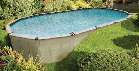 landscaping around an above ground pool bee home plan