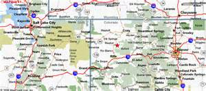 a map of colorado map of colorado utah new york map