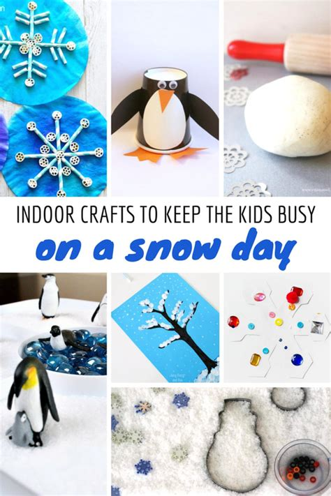 crafts to keep busy indoor crafts to keep busy on a snow day glamamom