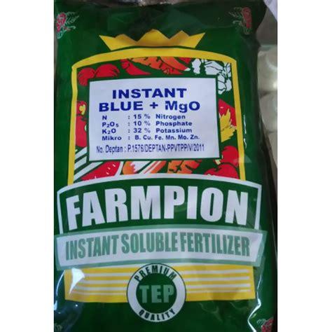 Pupuk Pertumbuhan Tanaman Pertanian Npk Gold 16 10 18 D Murah jual pupuk farmpion blue