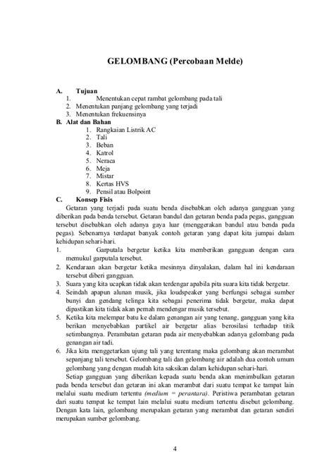 Cara Membuat Laporan Praktikum Kimia Sma | laporan praktikum fisika