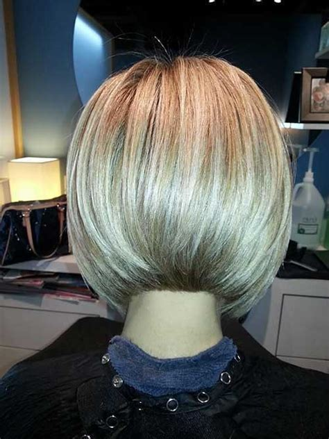 photos of the back of angled bob haircuts 25 short bob hairstyles for women short hairstyles 2016
