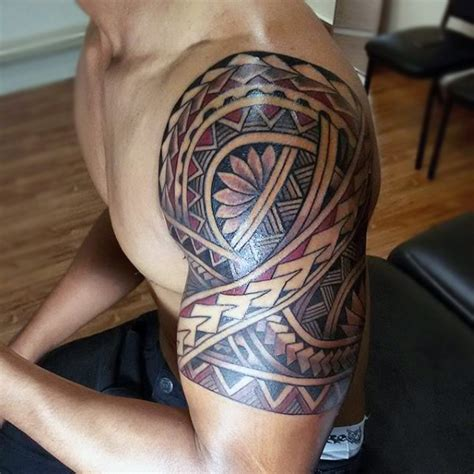 tribal upper arm tattoo 30 maori arm tattoos collection