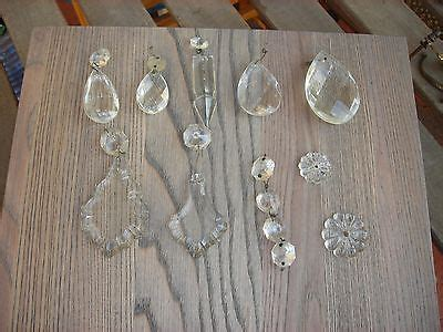 gocce di vetro per ladari gocce di vetro lavorato per ricambi ladari vintage