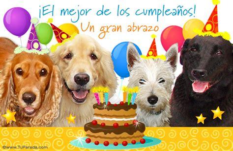 imagenes para una amiga perra tarjeta de cumplea 241 os con perros cumplea 241 os tarjetas