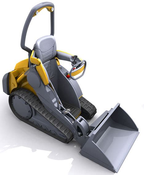 Mini Movers Concepts loader bot is a stylish and functional solution for carrying load in the future tuvie