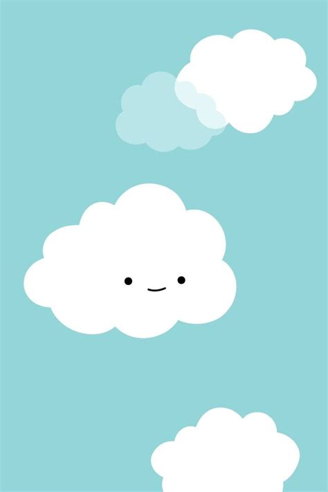 cute clouds iphone wallpaper  wallpaper wallpaper