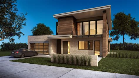 custom country homes 3d rendering process