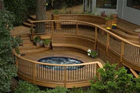 beautiful decks outdoor deck pictures and ideas