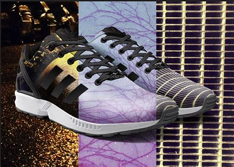 your own photos or artwork printed on adidas zx flux with a phone app if it s hip it s here
