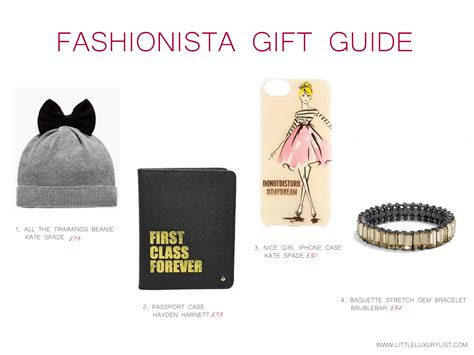 2006 Gift Guide Part 1 by Fashionista Gift Guide Part 1 By Luxury List