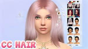 sims 4 custom content hair custom content hair the sims 4 youtube