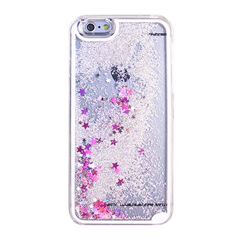 Harcase Gliter Iphone 7 wholesale iphone 7 glitter shake dust clear silver