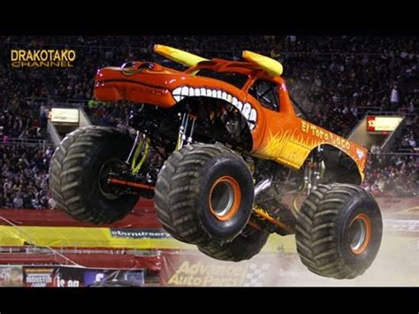 video truck monster top 10 monster trucks m 193 s bestiales que existen youtube