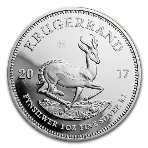 1 Oz Silver Coin Value - buy 2017 south africa 1 oz silver krugerrand proof value