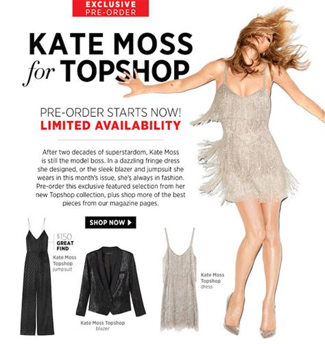 Topshop Heading To States With Kate Moss Line At Barneys by Object Moved