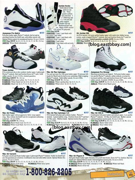 nike basketball shoes 1998 eastbay mobile features releases reviews