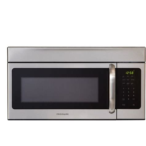 frigidaire 30 in w 1 6 cu ft the range microwave