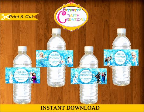bottled water label template 6 free printable bottled water label template