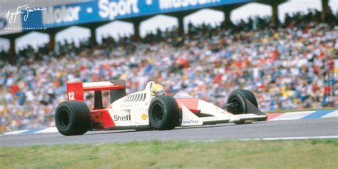 German Grand Prix – 1988 - The history of Ayrton Senna F1 Driver Numbers