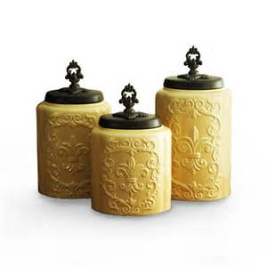 Antique Canisters Kitchen Antique Canister Set Cream Set Of 3 Vintage Kitchen