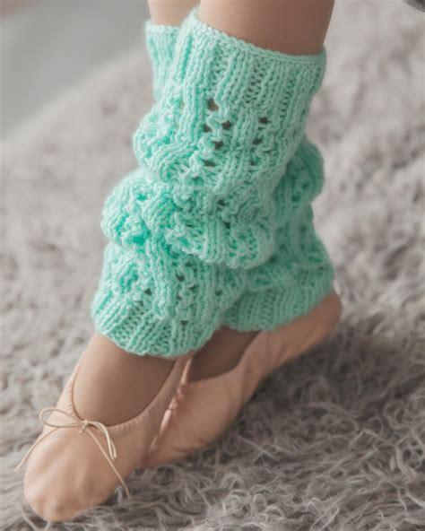 how to knit a warmer minty fresh leg warmers allfreeknitting