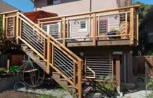 Patio Railing Designs Deck Railing Designs Explore The Materials