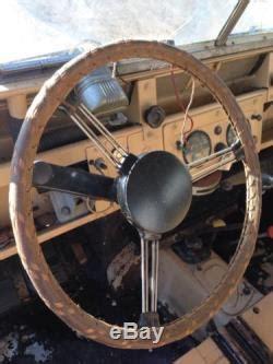 Vintage Leather Steering Wheel Cover    Wheel