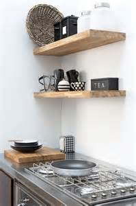 10 favorites rustic open shelving in the kitchen