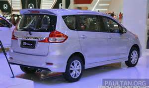 maruti suzuki new car 7 seater maruti suzuki ertiga facelift at launched at 5 99 lakhs