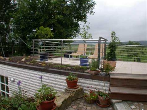 edelstahlgeländer preis terrassengel 228 nder aus verzinktem stahl mit edelstahl