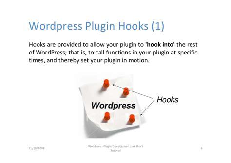 tutorial wordpress plugin development wordpress plugin development short tutorial