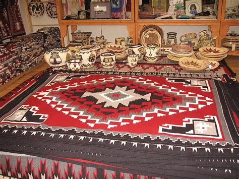 Richardson Rugs by Large Ganado Navajo Rug And Baskets At Richardson S