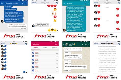 free mobile por free mobile une cagne pleine d humour pour c 233 l 233 brer