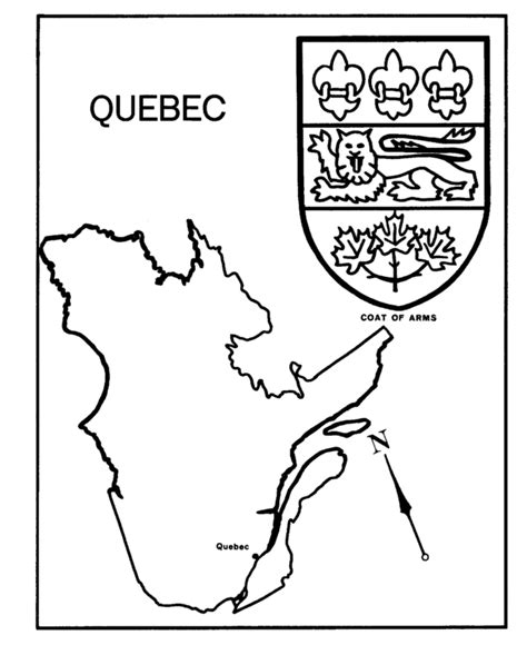 coloring pages quebec coloring pages maps coloring home