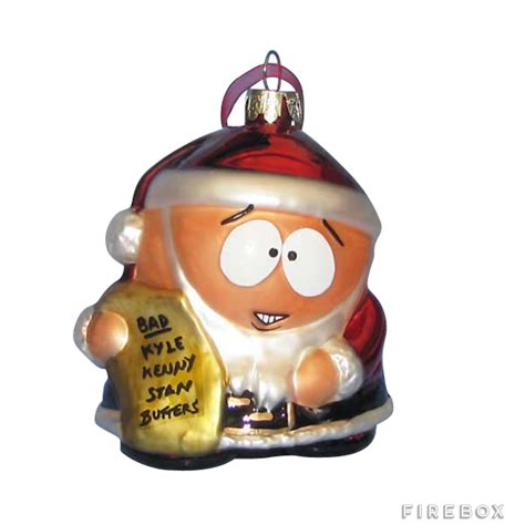 south park cartman christmas ornament buy at firebox com