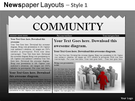 Powerpoint Template Newspaper Headlines Choice Image Powerpoint Template And Layout Powerpoint Newspaper