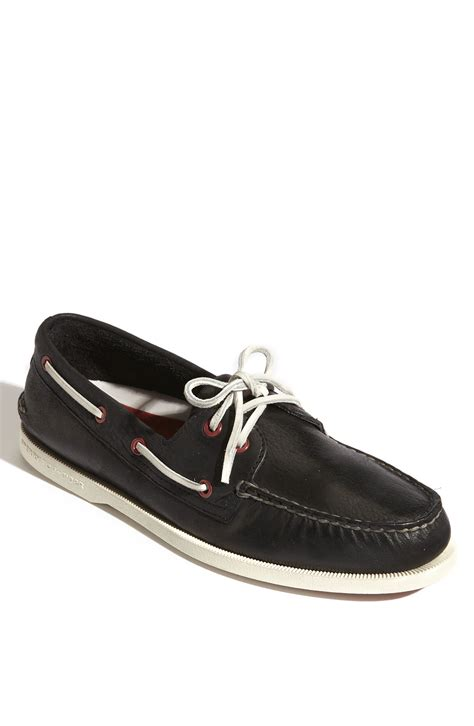 sperry top sider authentic original 2 eye burnished boat
