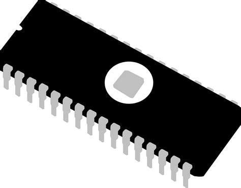 integrated circuit chip clipart clipart eprom chip integrated circuit memory ic
