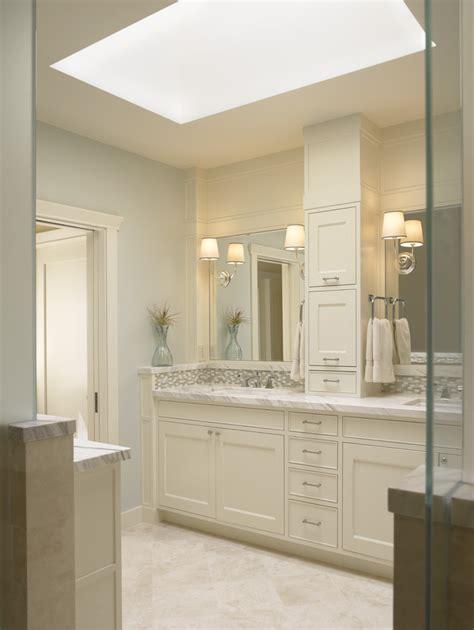 traditional tall bathroom cabinet ideas