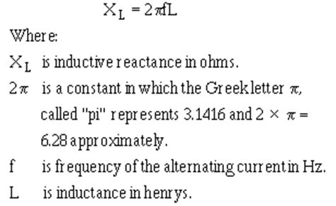 inductive reactance formula calculator formula for xl inductance 28 images since at the resonant frequency xl cancels xc the